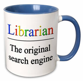 Librarian - The Original Search Engine Mug