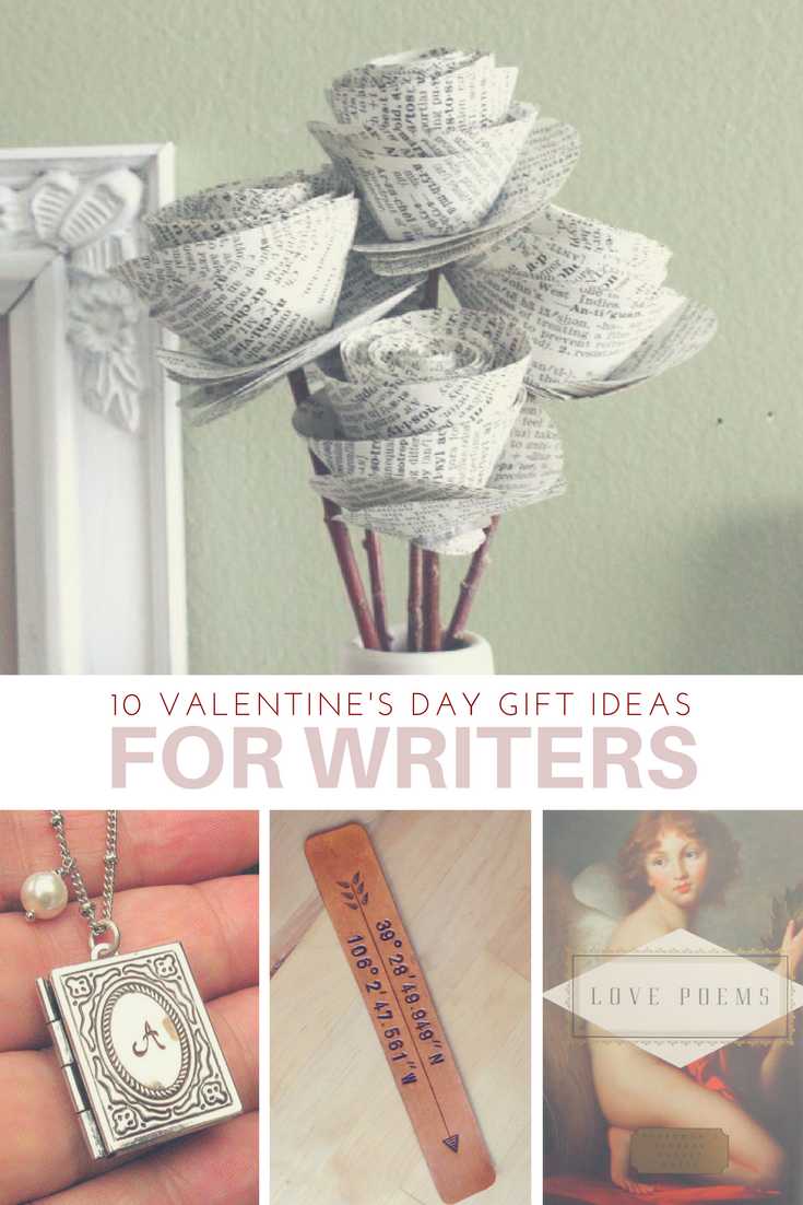 10 Valentine's Day Gift Ideas for Writers