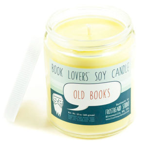 Old Book Scented Soy Candle