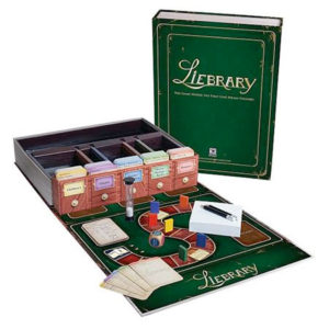 Liebrary Board Game for Book Lovers