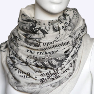 Romeo and Juliet Book Scarf