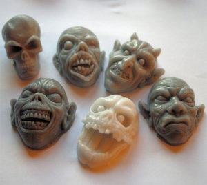 Handmade Zombie Soaps
