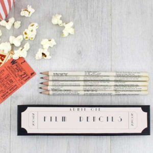 Film Pencils Gift for Screenwriters