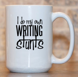 I do my Own Writing Stunts Mug