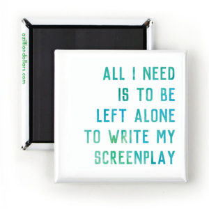Screenplay Magnet Gifts for Screenwriters
