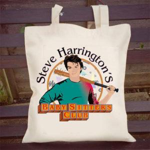 Steve Harrington's Baby Sitter's Club Tote Bag - Stranger Things Gifts
