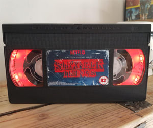 Stranger Things VHS Tape Nightlight - Gift Ideas