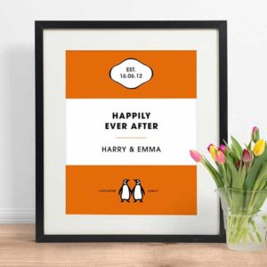 Personalized Penguin Book Cover