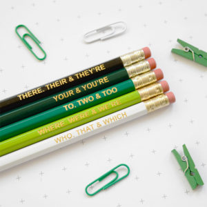 Grammar Pencils - Gifts for Copywriters