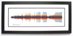 Song Sound Wave Art Gifts for Songwriters