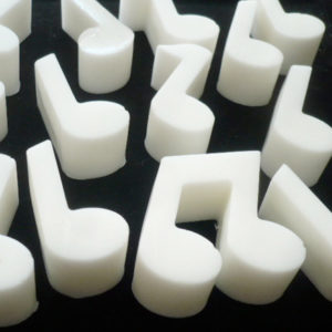 Musical Notes Shea Butter Soap - Gifts for Songwriters