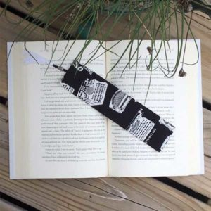 Typewriter Bookmark Gift Idea