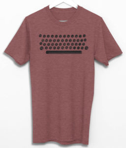 Typewriter Keyboard T-Shirt