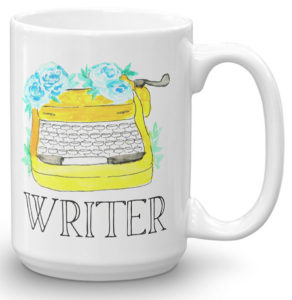 Typewriter Mug Gift for Writers