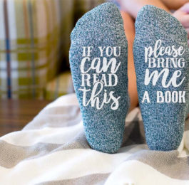 Comfy Socks for Book Lovers Gifts for Mom