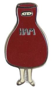 Scout's Ham Costume Pin