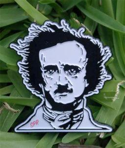 Edgar Allan Poe Enamel Pin