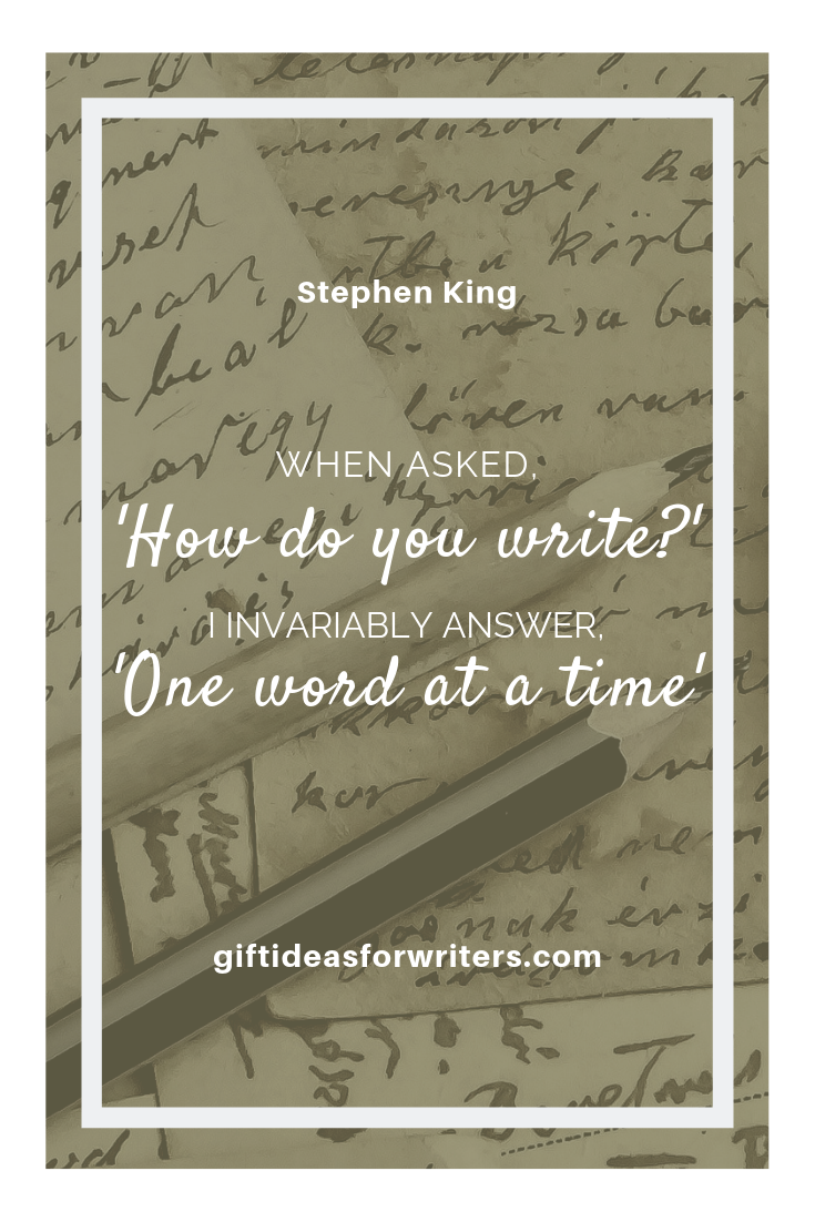 Stephen King Writing Quote