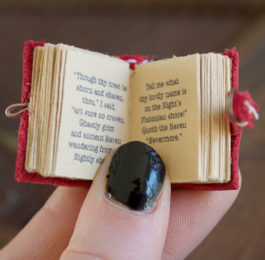 Custom Mini Book Necklace - Unique Gifts for Writers