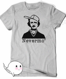 Nevermo' Edgar Allan Poe Shirt