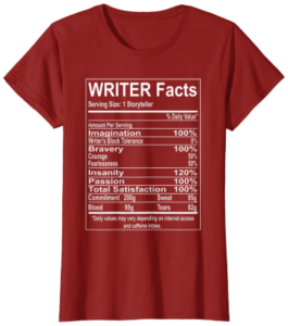 Writer Facts T-shirt