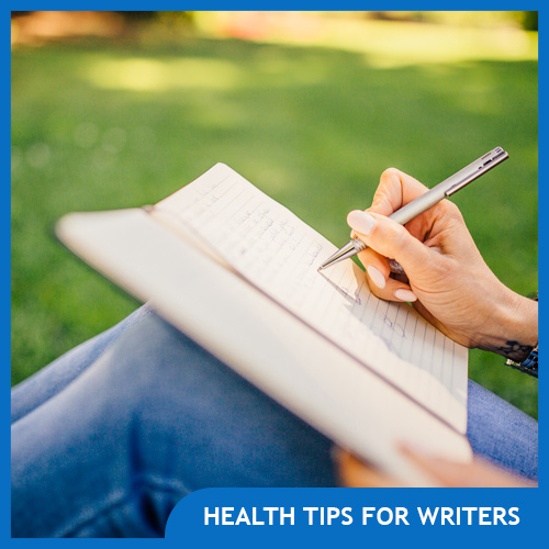 10 Healthy Living Tips for Writers