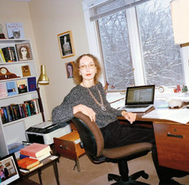 Joyce Carol Oates Author Desk