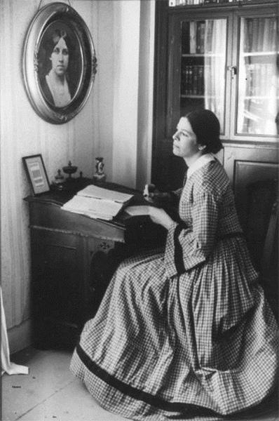Louisa Mae Alcott Writer Desk