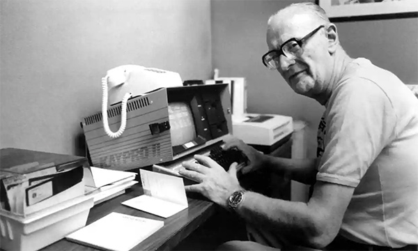 Arthur C. Clarke Writing Desk