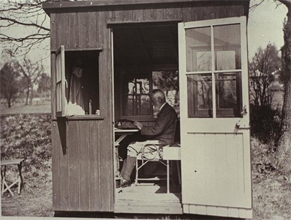 George Bernard Shaw Writing Shed