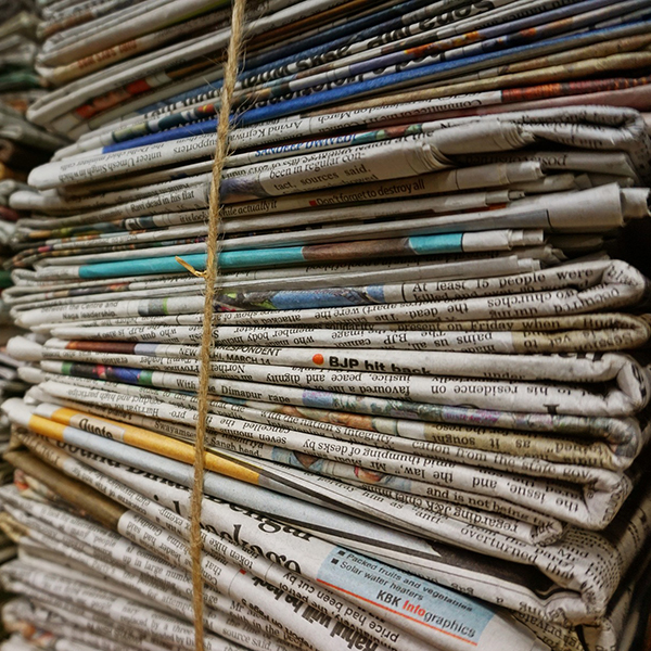 Newspaper Recycled Wrapping Paper